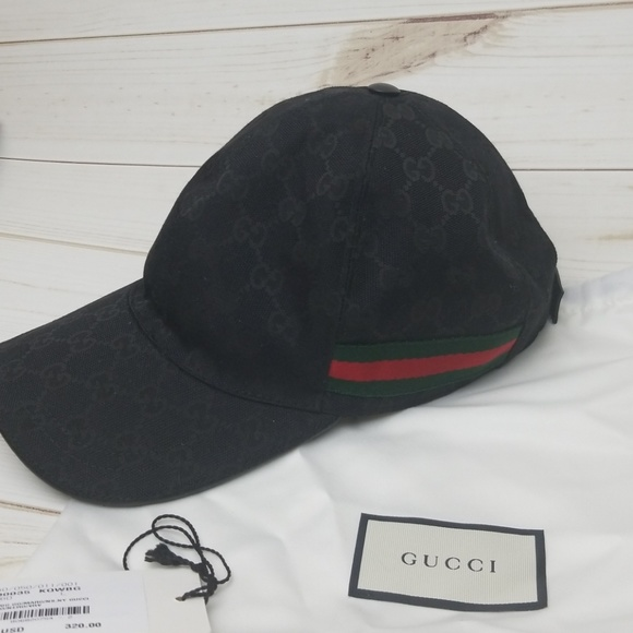 666781feeaeb2 Gucci Accessories - Gucci Authentic Black Hat Cap Unisex One Size